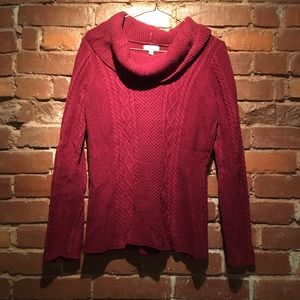 Croft&Barrow Cowl Neck Sweater Pullover